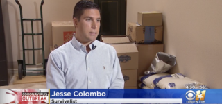 Texas Man Stockpiles 18 Months Worth of Food to Prepare for Coronavirus: WATCH