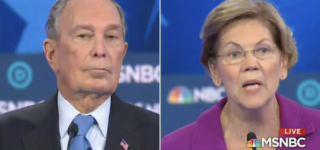 Warren Rips Into Bloomberg for Calling Women 'Horse-Faced Lesbians': WATCH