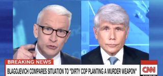 Anderson Cooper Takes Down 'Sad and Pathetic' Rod Blagojevich for Lack of Remorse, Comparisons to Nelson Mandela: WATCH