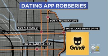 Grindr robberies