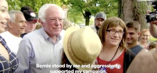 Bernie Sanders Celebrates Endorsement of First Transgender Gubernatorial Nominee: WATCH