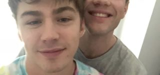 Connor Jessup and Miles Heizer Reveal They're Dating in Belated Valentine's Day Instagram Post