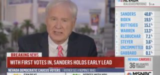MSNBC's Chris Matthews Takes Heat for Comparing Bernie Sanders' Victory to Nazi Invasion of France: WATCH