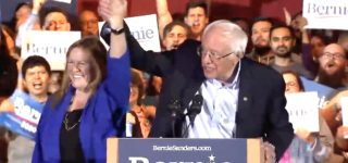 Bernie Sanders Celebrates After Nevada Win: 'We're Going to Sweep This Country' — WATCH