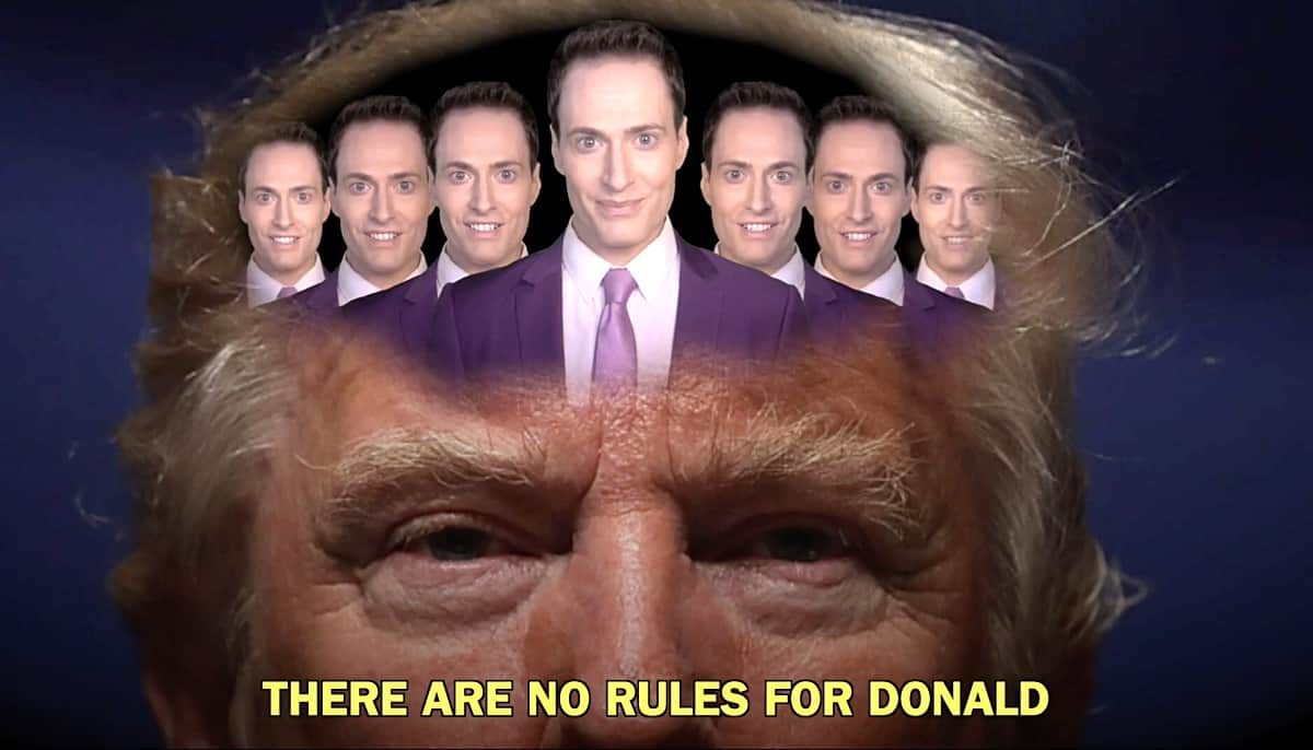 No rules for Donald Randy Rainbow