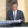 Romney Calls Trump Threat to Hold on to Power 'Unthinkable and Unacceptable'