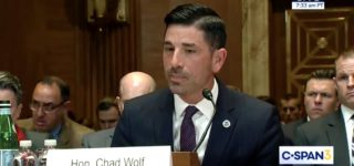 Under Brutal Grilling, Acting DHS Secretary Chad Wolf Appears to Have No Clue About Coronavirus or U.S. Response: WATCH