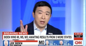 Andrew Yang Joe Biden