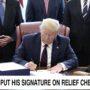 Trump Wants His Signature on Coronavirus Relief Checks Rather Than Civil Servant's: WATCH