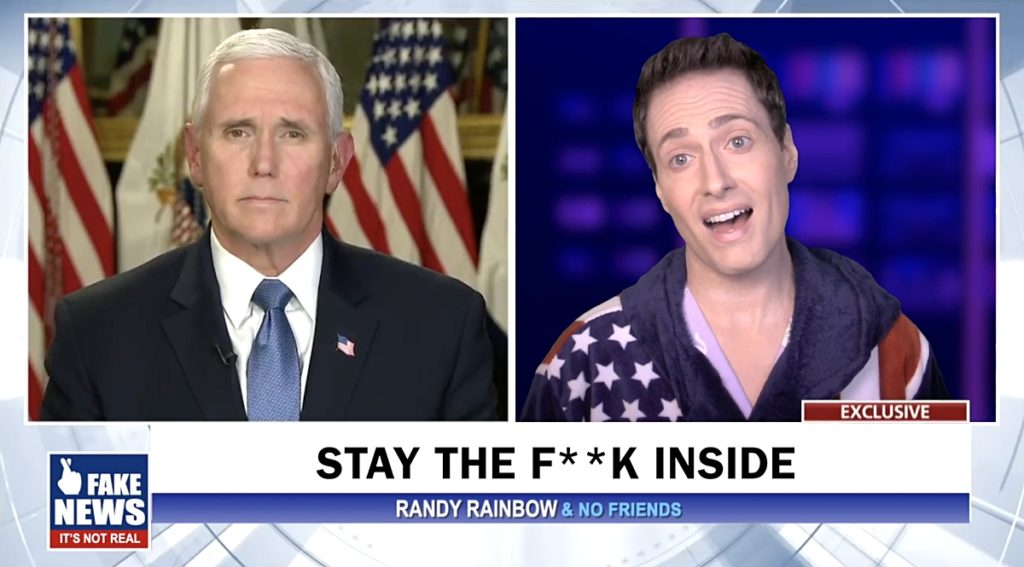 social distance randy rainbow