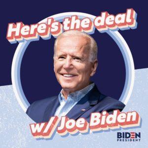 here's the deal joe biden