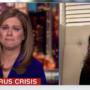 CNN's Erin Burnett Breaks Down in Tears While Interviewing Widow of Coronavirus Victim: WATCH