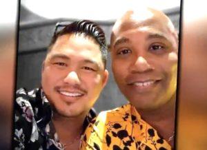 gay married couple coronavirus