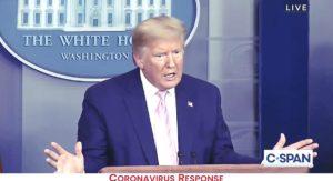 chloroquine Trump