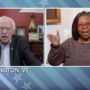 Whoopi Goldberg Grills Bernie Sanders: 'Can You Explain Why You're Still in the Race?' — WATCH