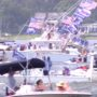 Hundreds Turn Out for MAGA Boat Parade in Charleston in Support of Trump: WATCH