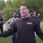 Michigan Sheriff Joins George Floyd Protesters in Peaceful March: 'These Cops Love You' — WATCH