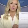 WH Press Secretary Kayleigh McEnany Exposes Trump's Private Banking Info: WATCH
