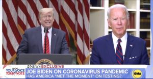 Donald Trump Joe Biden incompetent