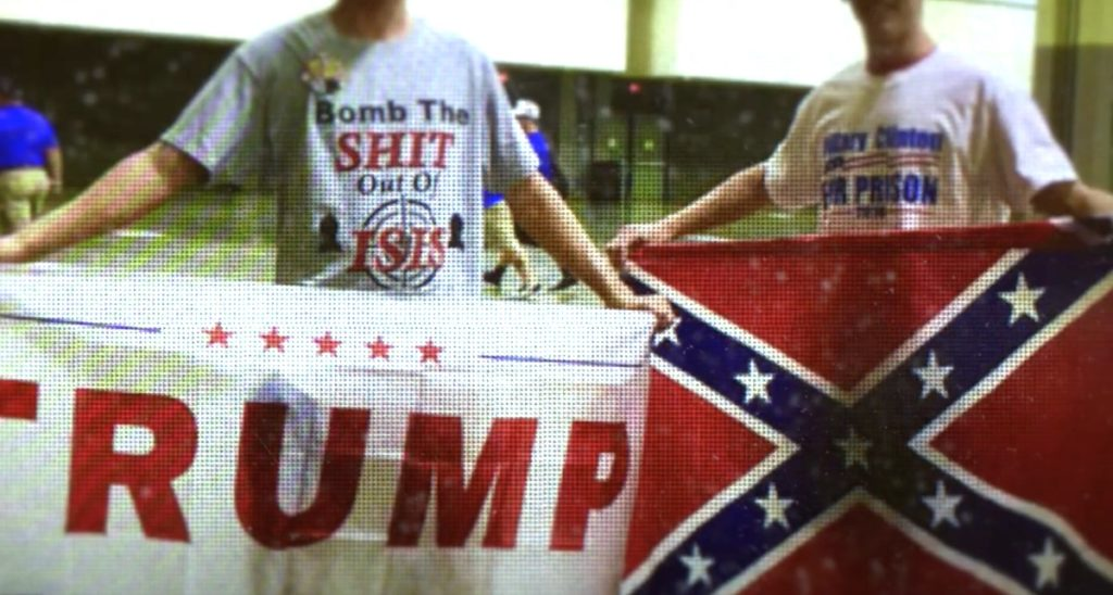 flag of treason trump