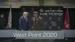 trump west point ramp