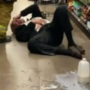 Anti-Mask Shopper Literally Cries Over Spilled Milk After Getting Pepper-Sprayed By Grocery Worker: WATCH