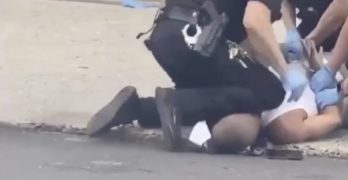 allentown police knee neck