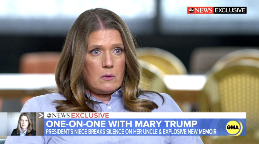 Mary Trump interview