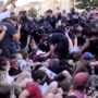 Warsaw Police Arrest 48 People Peacefully Protesting Arrest of LGBTQ Activist in Poland: WATCH