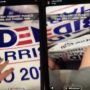Ohio Police Officer's Son Busted After Stealing Biden Campaign Signs and Posting Video to Instagram: WATCH