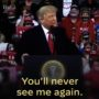 Biden 'Approves' Trump's Promise That We'll Never See Him Again, in Beautiful New Ad: WATCH