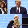 Trump vs. Biden: Spousal Affection Edition — WATCH