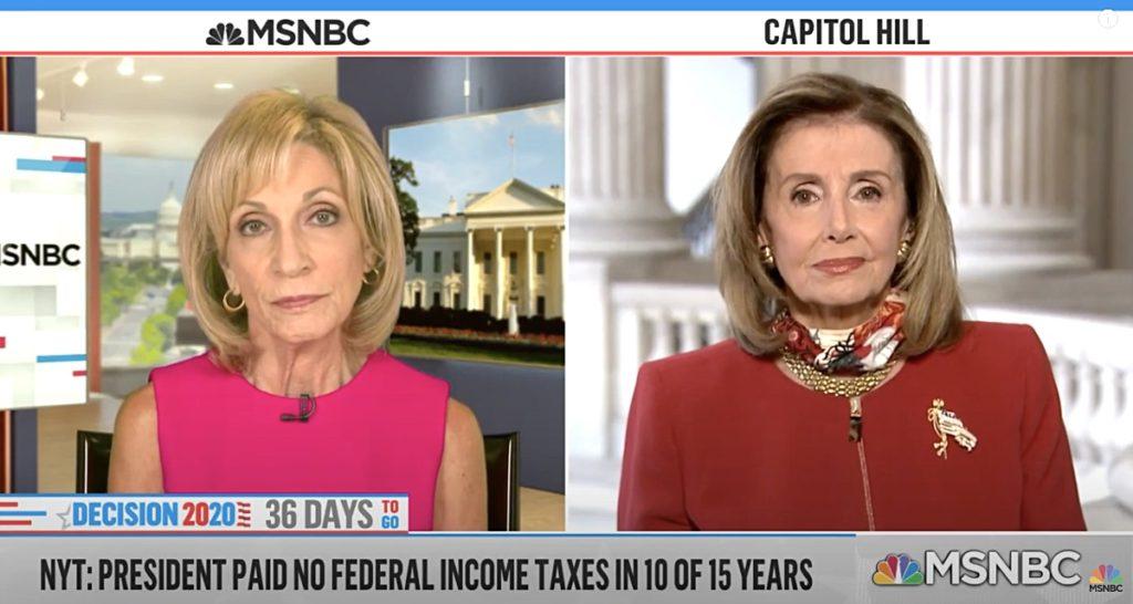 Nancy Pelosi taxes