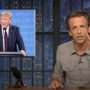 Seth Meyers Goes to Town After Watching Trump Debate: 'It Was Like Hotboxing a Porta Potty with Crystal Meth in Phoenix in July' — WATCH