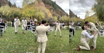 Stupid Love wedding flash mob