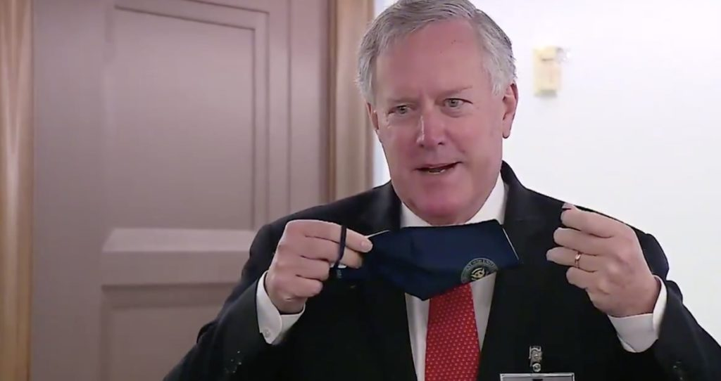Mark Meadows mask