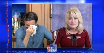 stephen colbert dolly parton