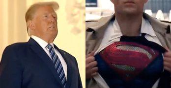 trump superman