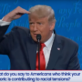 "Trump Ridiculed for Bizarre Debate Answer on Race: ""I Am the Least Racist Person In This Room"" — WATCH"