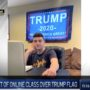 NJ High School Student Complains After Being Kicked Out of Online Class for Displaying Trump Flag: WATCH