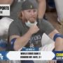 L.A. Dodger Justin Turner Celebrates World Series Win Unmasked, Hugging Teammates After Being Pulled Mid-Game for Positive COVID Status: WATCH