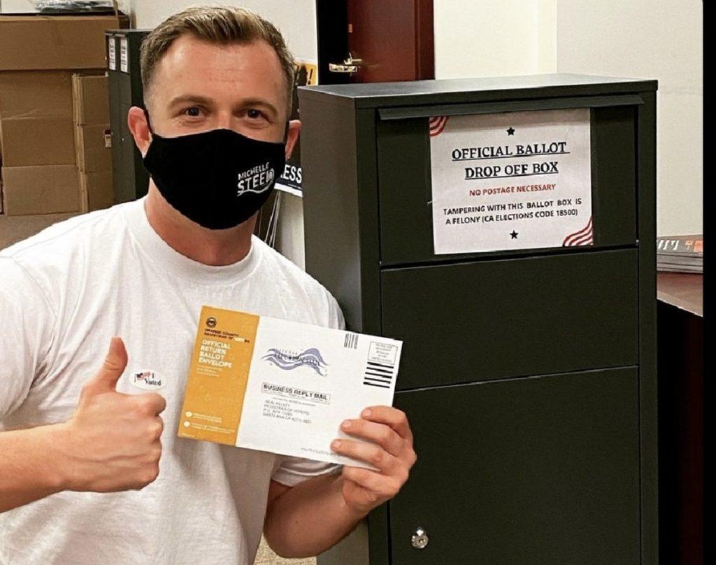 Jordan Tygh California GOP drop-boxes