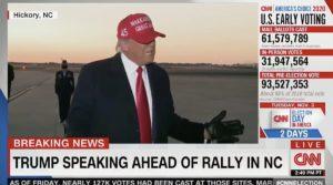 trump declare victory