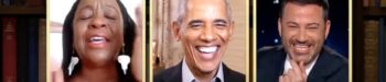 Obama Surprises Fan with Hilarious Personalized Prank Zoom Call: WATCH