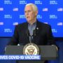 Mike Pence Receives COVID Vaccine: LIVE VIDEO