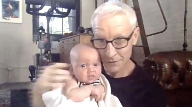 Anderson Cooper baby