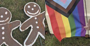 gingerbread men feces