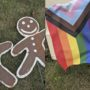 Police Investigating Hate Crime After Gay Couple Finds Gingerbread Men Xmas Decorations Smeared with Feces, Placed Near Pride Flag