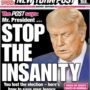 'New York Post' Scorches 'Insane' Trump in Editorial: 'You Lost … It's Time to End This Dark Charade … Sidney Powell is Crazy Person, Michael Flynn's Behavior is Treasonous'