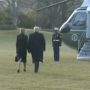 Disgraced Trump Leaves White House for Last Time, Holds Sendoff for Himself: WATCH